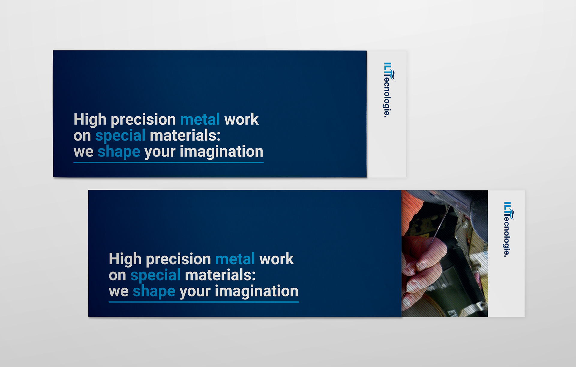 Corporate identity brochure ILT Tecnologie   Kora Comunicazione