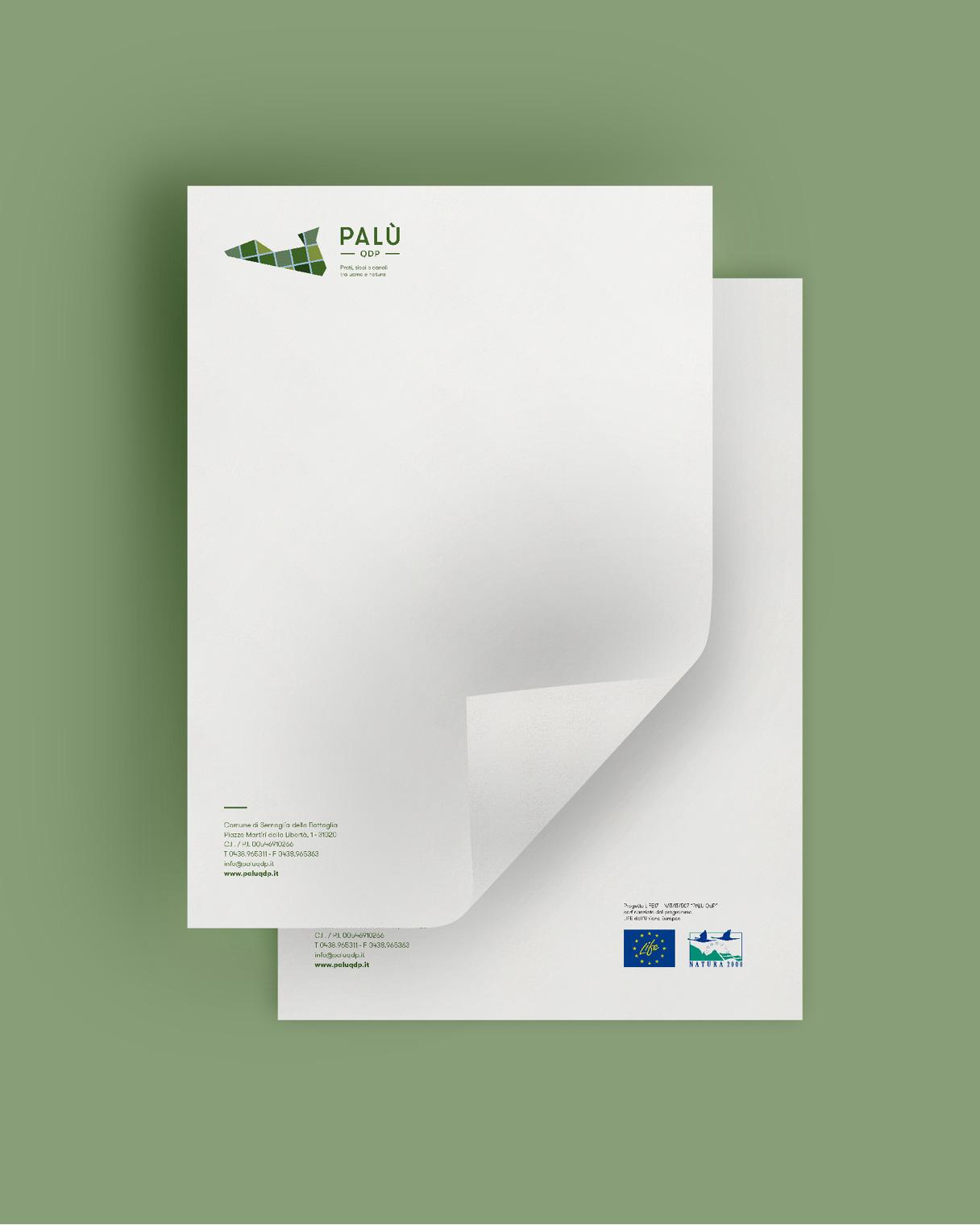 Marketing territoriale carta intestata PALU QdP | Kora Comunicazione