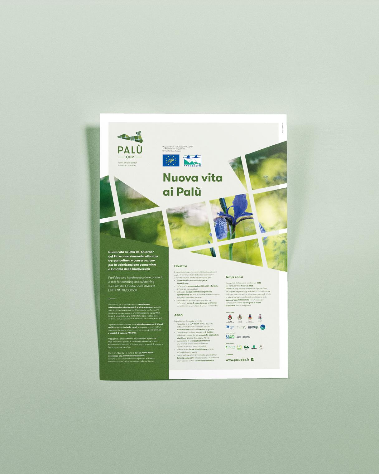 Marketing territoriale poster PALU QdP | Kora Comunicazione