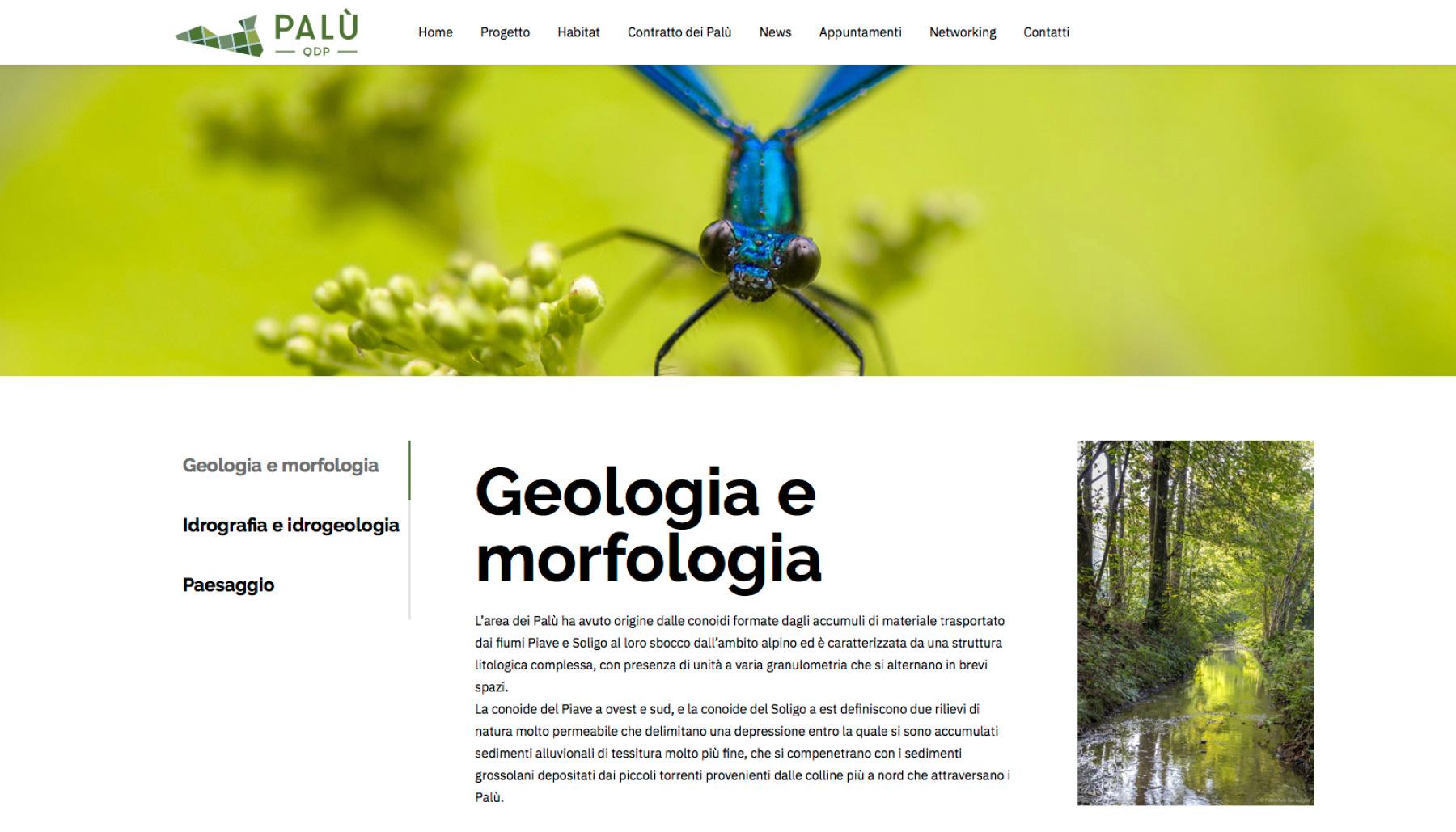 Marketing territoriale sito PALU QdP | Kora Comunicazione