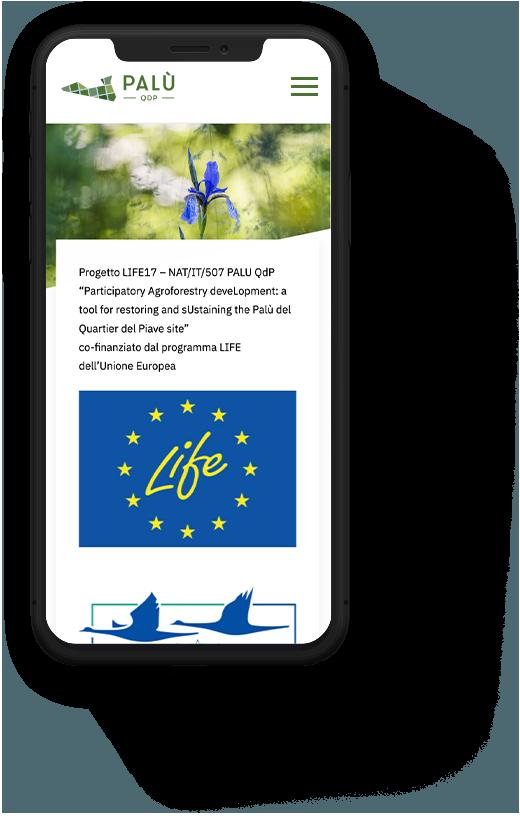 Marketing territoriale sito mobile PALU QdP | Kora Comunicazione
