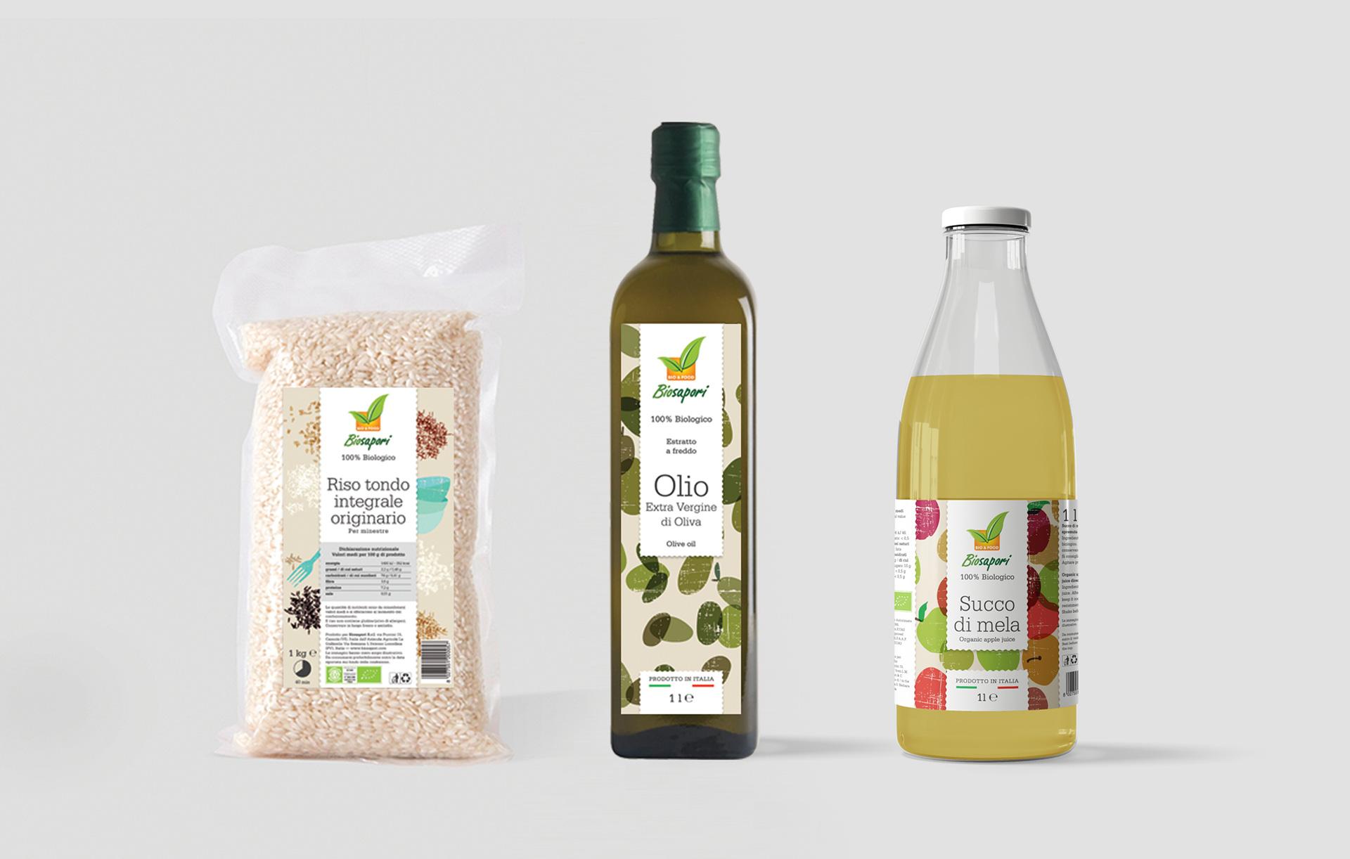 Progettazione packaging Biosapori | Kora Comunicazione