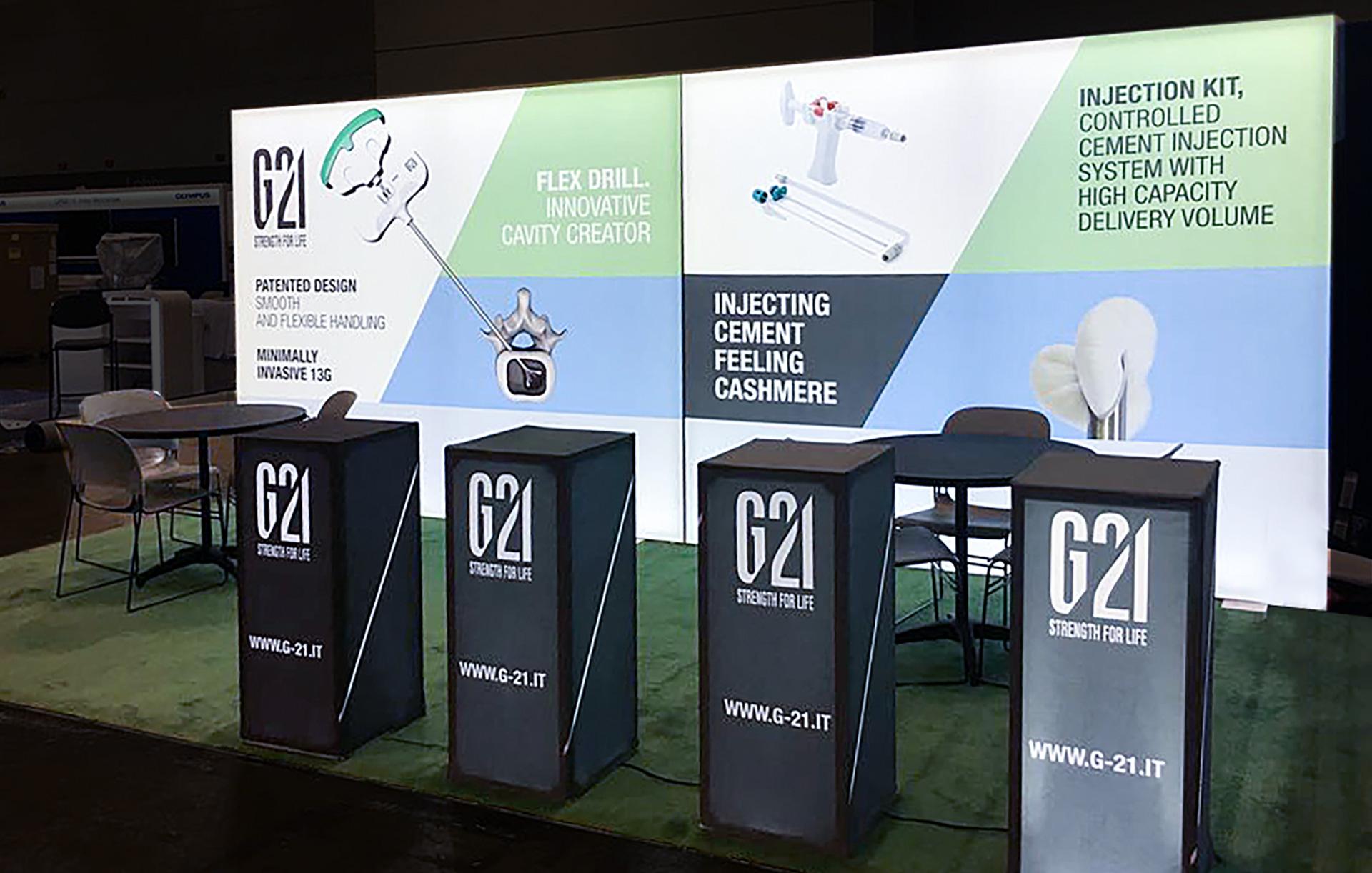 Stand G21 | Kora Comunicazione