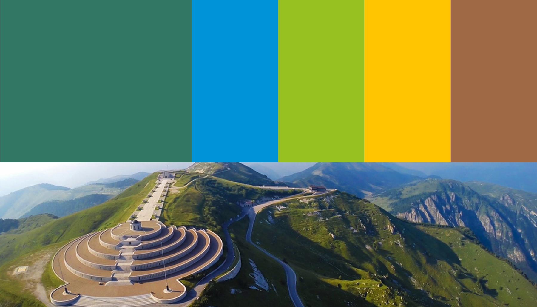 Strategia di marketing territoriale colori immagine Il Grappa | Kora Comunicazione