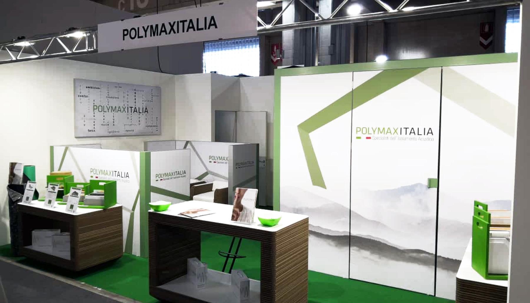 Allestimento stand Polymax | Kora Comunicazione