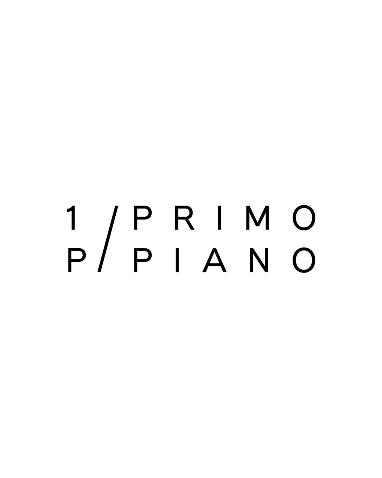 Progettazione logo 1P/Primo Piano | Kora Comunicazione