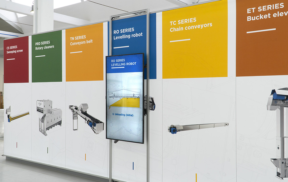 Progettazione allestimenti interattivi Metalmont | Kora Comunicazione