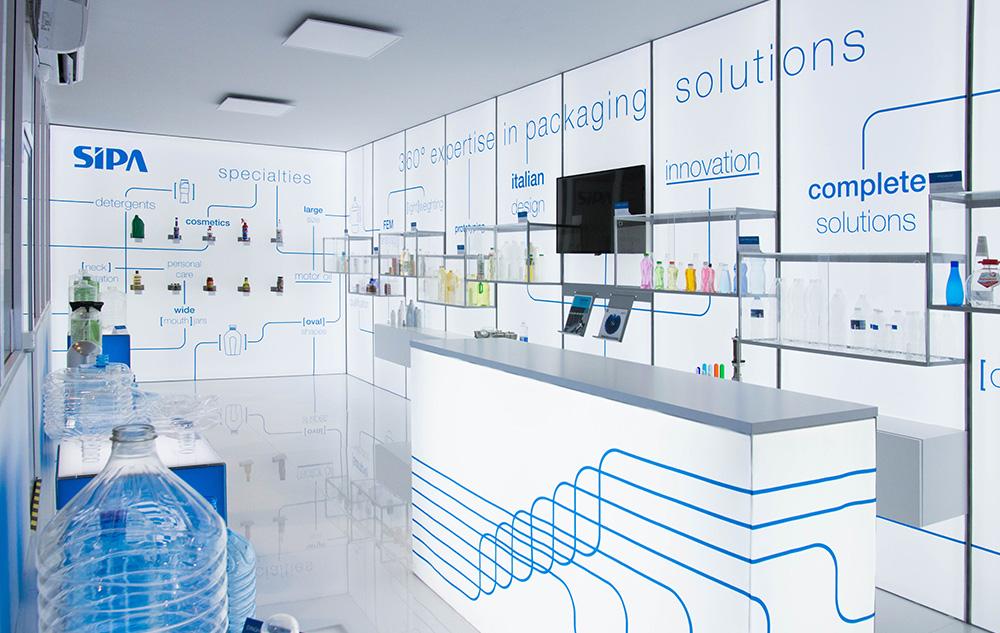 Progettazione allestimenti showroom SIPA | Kora Comunicazione