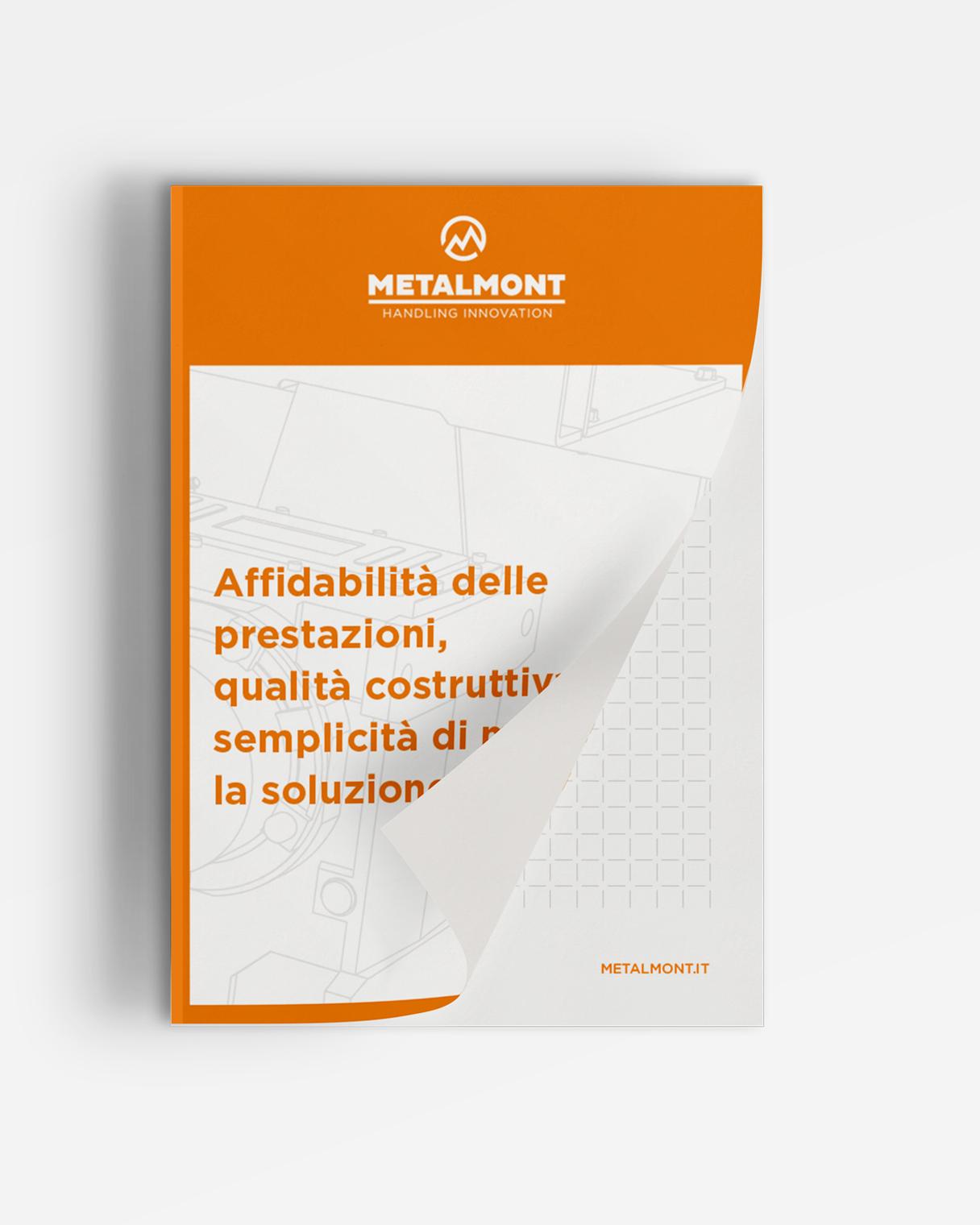 Progettazione grafica gadget blocco Metalmont | Kora Comunicazione