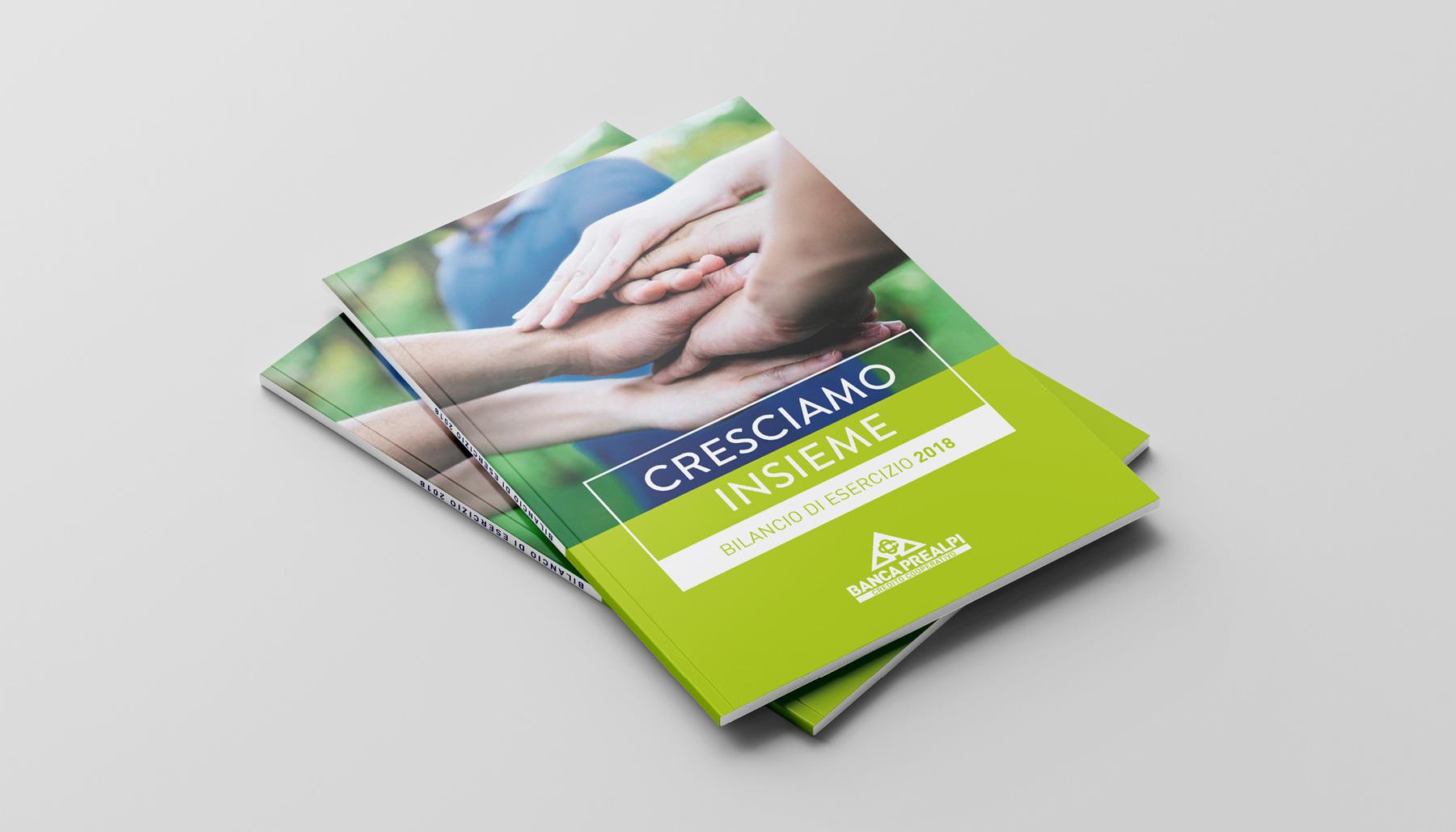 Progettazione grafica Banca Prealpi SanBiagio | Kora Comunicazione